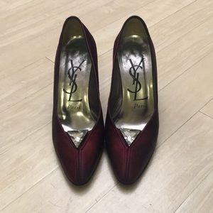 YSL heels made in Italy